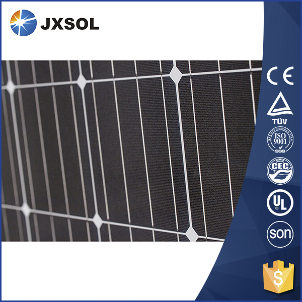High quality 290 watt PV mono crystalline best price per watt solar panels