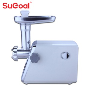 Plastic housing material multi-functional portable electric meat grinder