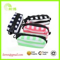 Custom design big zipper fashion pencil case