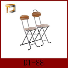 DT-88 Modern Hot Sale Cheap back mdf folding dining wood chair