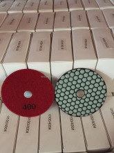 400 grit 4inch One set Hand Dry Granite Polishing Pads/Buffing Discs for