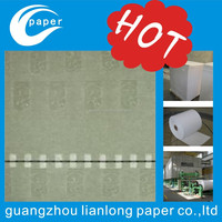 Anti-counterfeiting security line paper custom water marked paper of the company