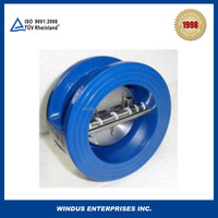 China AP I594 dual-plate wafer check valve