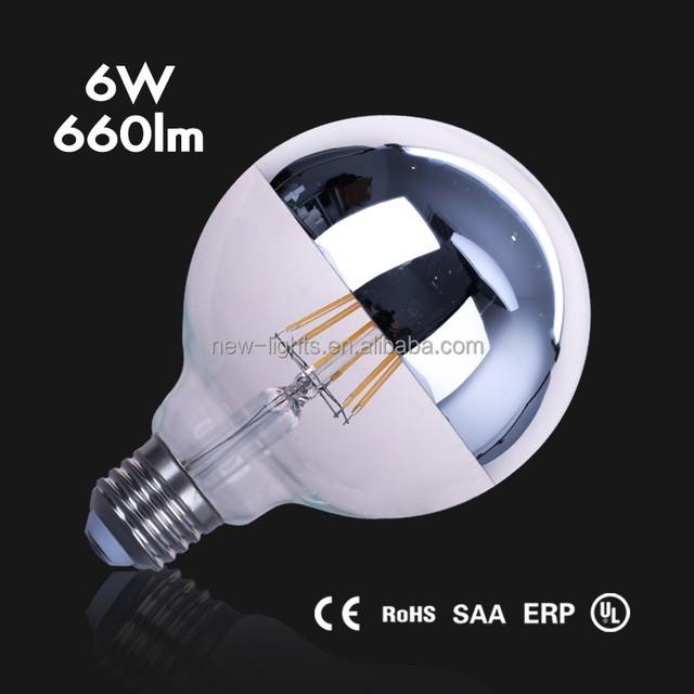 led G125 2w/4w/6w/8W filament bulb E27/E26/B22 led bulb lights