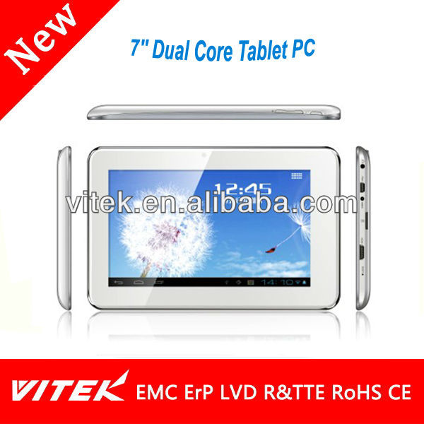 New MID 7'' Dual Core Tablet PC with Android 4.2