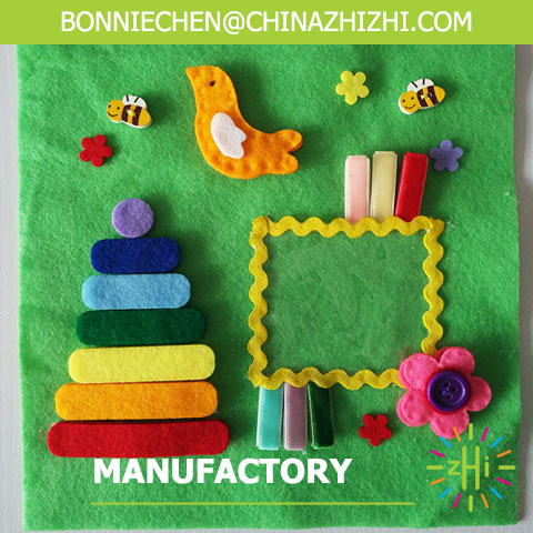 hot sale high quality cheap soft fabric children book toy