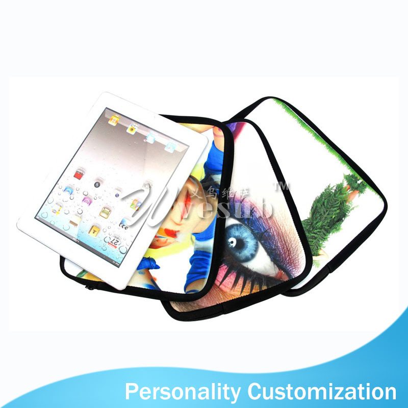 Sublimation Neoprene Sleeve Case for iPad