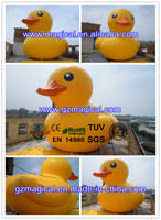 big airtight yellow buoy giant inflatable promotion duck