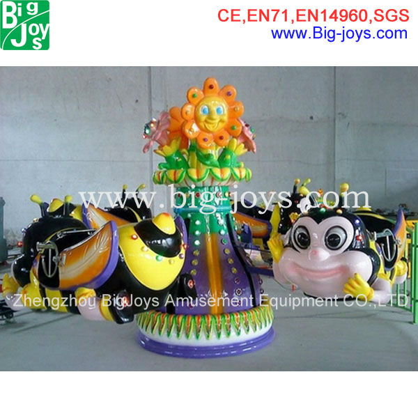 Roundabout Amusement Rides,cute busy bee rotary rides