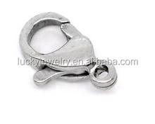 Stainless steel clasps lobster