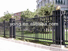 small flexible garden fence wooden