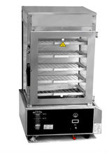 Portable Steam Hot Food Display Warmer Cabinet