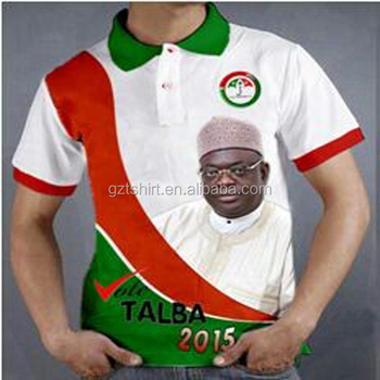 Cheap printing election campaign polo dry shirt