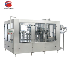 Superb automatic machinery carbonated drink filling water bottling plant