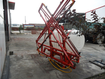 Tractor 3-pointed mounted boom sprayer