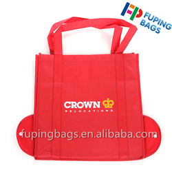 Wholesale cheap varous style tote bag folding non woven shopping bag with custom logo for promotional