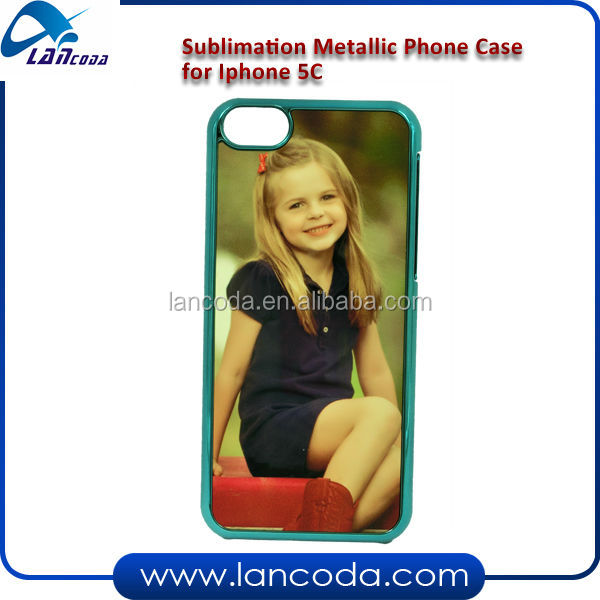sublimation custom color phone case for iphone5c