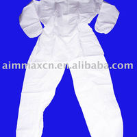 Non Woven Disposable Cheanroom Coverall