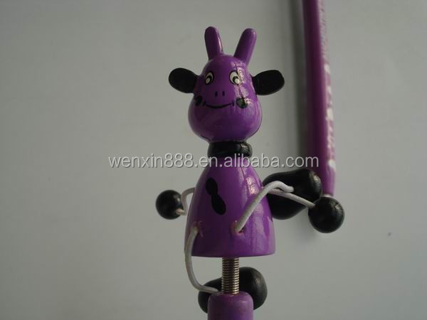 custom animal shaped fancy funny pens for promotion
