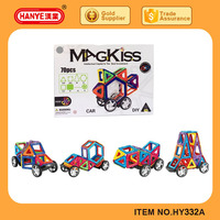 Multifunctional toys plastic magnetic building blocks 70pcs for wholesales