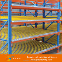 light duty gravity flow roller rack, roller racking system