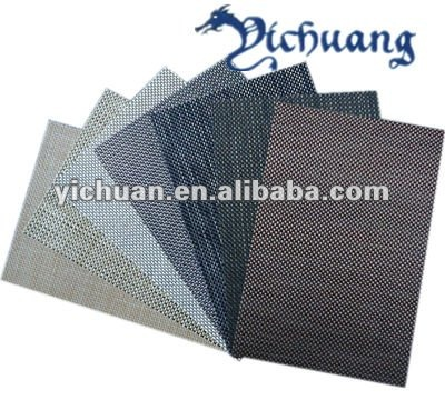 High quality China suppliers wholesale cheap pvc placemat/plastic mat/table runner
