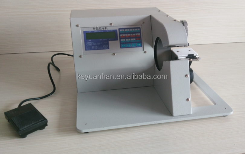 Custom cable assembly wiring harness taping machine view