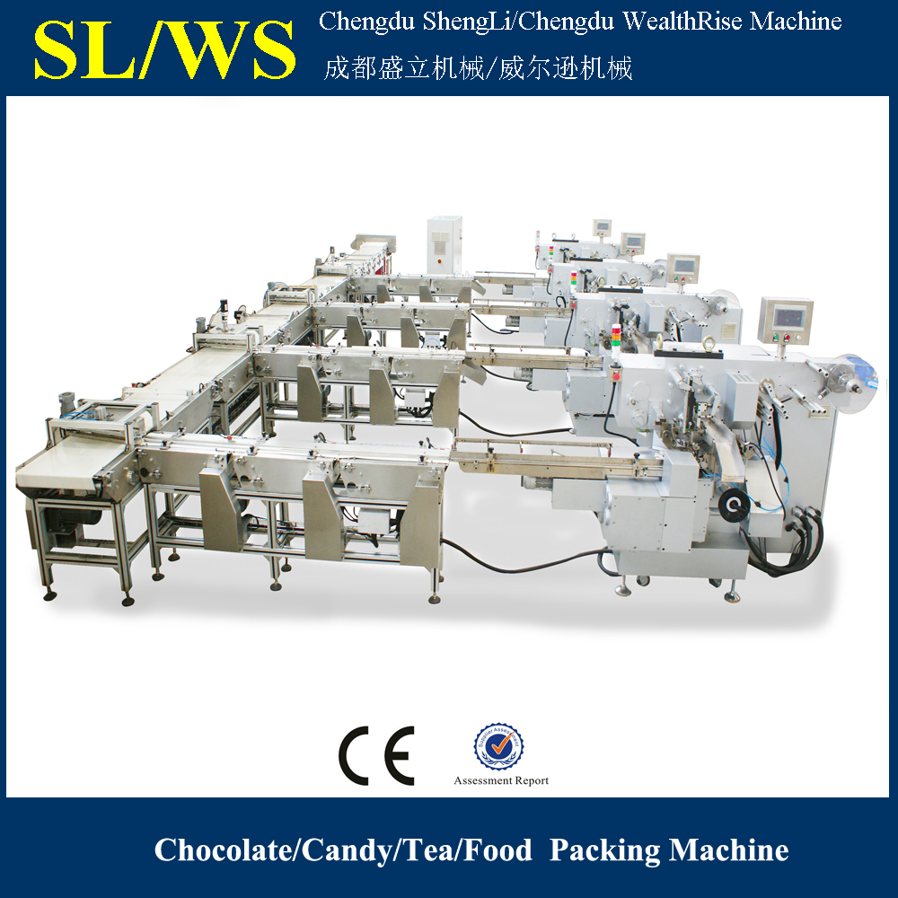 Food Industrial Machines/Yuan-bao Chocolate Wrapping Machine