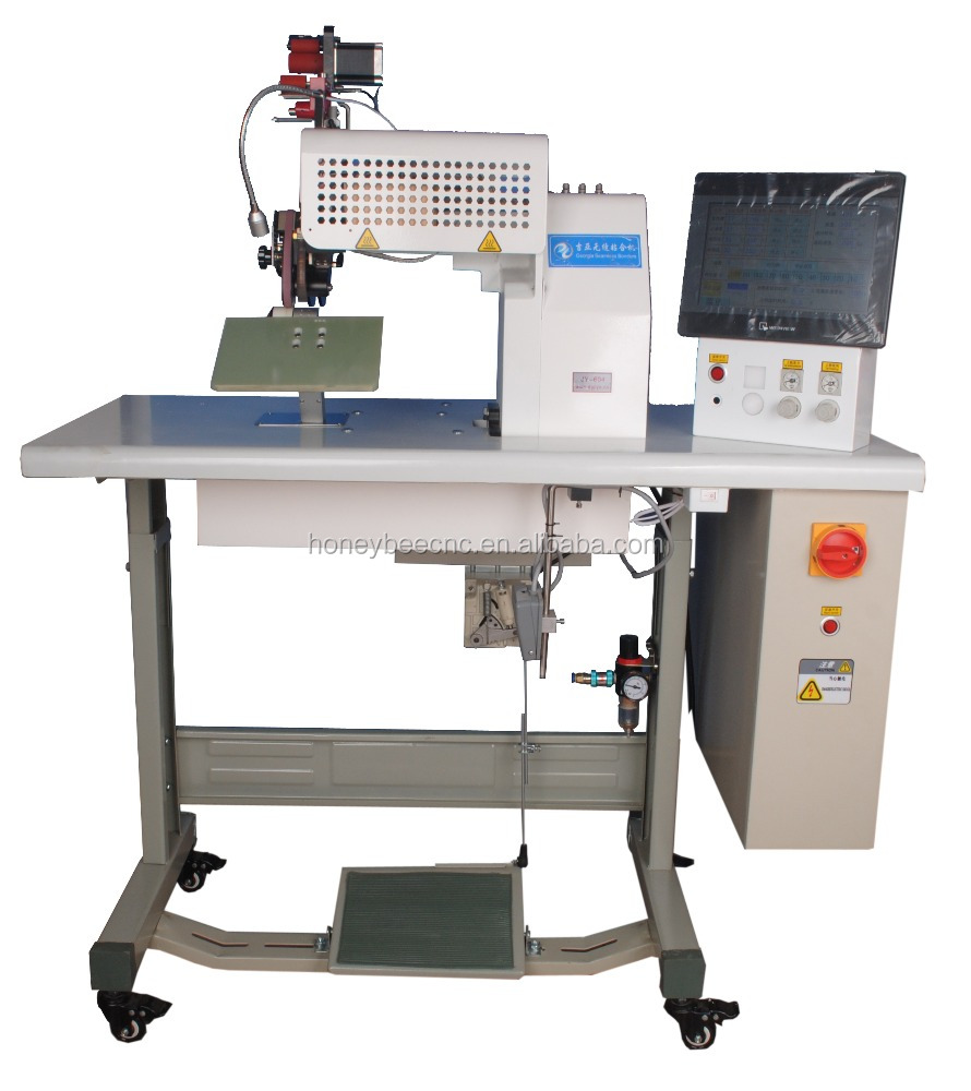 New Sew Free Semi-auto Seamless Bonding Machine Hemming Machine For Fabric