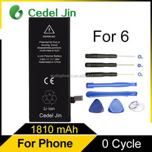 battery gb 18287-2000 3.8v li-ion cell phone battery for iPhone 6 Plus