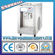 Table model small capacity soft ice cream machine for sale