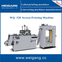 Automatic roll to roll screen printing machinery