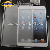 for iPad Air Side Shiny+Middle Matte TPU Gel Case