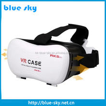 3D cardboard glasses with Head Mounted Display/Video Glasses 3D Glasses Type virtual reality