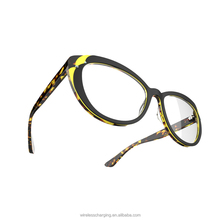 Colorful Optical Eyeglasses with Diamond, High Quality and OEM Acetate Optical Eyeglasses