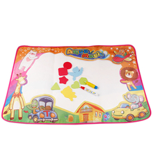 Non-toxic Drawing Board Painting Writing Magic Pen Water Doodle Mat For Baby Kid
