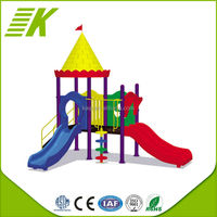 Sigle Wave Slide/Outdoor Playground For Fun/Preschool Outdoor Playground For Sale