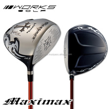 [golf driver] WORKS Golf Wild MaxiMax driver V-SPEC a-II Carbon shaft