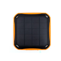 2015 China factory new design solar powerbank/waterproof 5600mah solar power