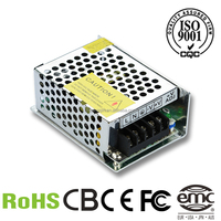 12v 2a single output minisize led power supply small internal driver