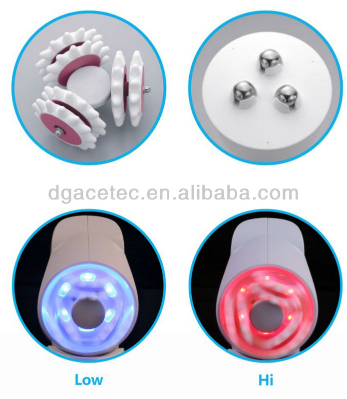 2014 Made in china body and face lift roller massager