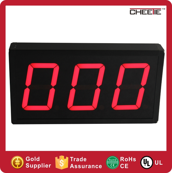 New Design 4 Digit 3/4/5/6/8/10/12 Inch Clock 7 Segment Digital Display