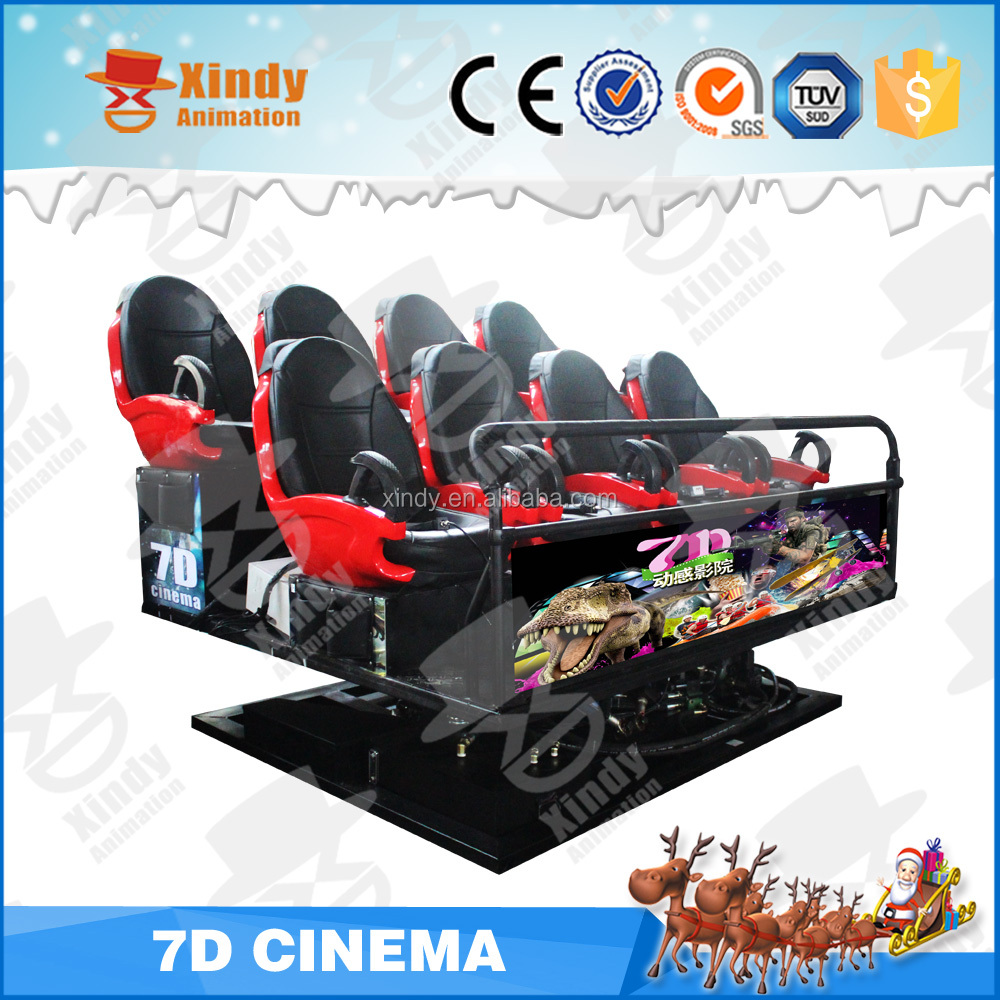 2016 IAAPA big 7d cinema projector 7d projector prices home theater