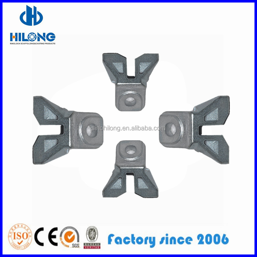 Ringlock Scaffolding Brace End with Wedge