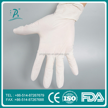 Good performance hot sale skin color latex examination gloves