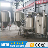 2000L Double Stack Beer Bright Tank For Sale Beer Brewing Equipment High Quality Beer Machinery
