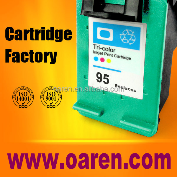 for hp 95 compatible inkjet cartridge C8766W computer printer ink filling