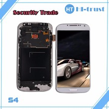 DHL Free Shipping! 100% Guarantee Original new LCD touch Screen with frame assembled for Samsung Galaxy S4