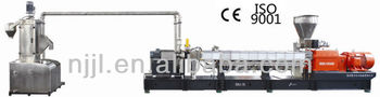 SHJ75 twin screw extruder underwater pelletizing line