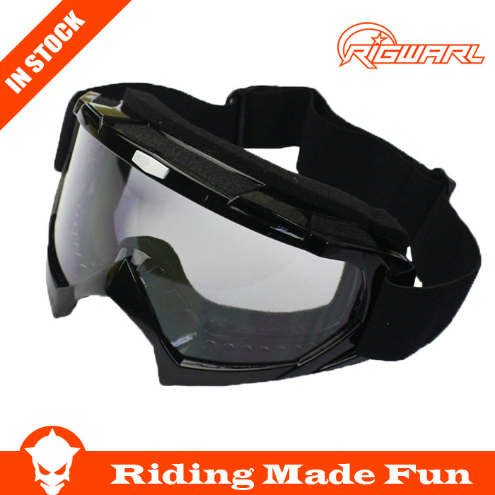 Black Color Reflective Lens Flexible Adult Motorcycle Protective Gears Motocross MX Goggles Glasses